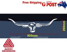LongHorn sticker RM Williams Decal Vinyl 90CM Car Window Ute Moto Graphic