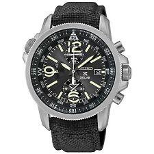 Seiko SSC293P2 Prospex Men's Solar Military Alarm Chronograph 100m Water Resi...