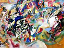 Composition VII Painting by Wassily Kandinsky Art Reproduction