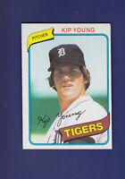 Kip Young 1980 TOPPS Baseball #251 (EXMT+) Detroit Tigers