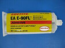 1 Cartridge Henkel Loctite Hysol E 90fl Epoxy Adhesive Gray 50 Ml Cartridge