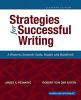 Strategies For Successful Writing  - by Reinking