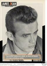 James Dean - French actor/ess card