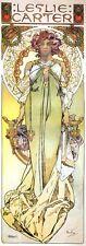 American Actress Leslie Carter Art Nouveau Deco Print Alphonse Mucha Poster NEW