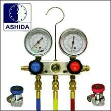 Service Manifold Gauge Set - for Air cond R134a