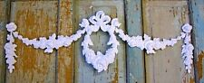 SHABBY & CHIC ROSE FURNITURE APPLIQUE ONLAY LARGE FLEXIBLE FREE USA SHIPPING