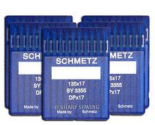 50 SCHMETZ 135X17 #18 SEWING MACHINE NEEDLES fits SAILRITE BIG-N-TALL