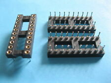 30 pcs IC Socket Adapter Round 20 Pin headers & (IC)Sockets Pinch 2.54mm