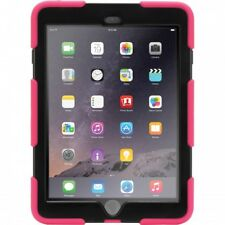 NEW GENUINE GRIFFIN SURVIVOR FOR IPAD AIR HARD CASE COVER & STAND PINK & BLACK