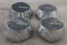 Miro Wheels Chrome / Grey Custom Wheel Center Cap Caps Set 4 # MG-P1122