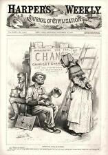 Women will Never be Statesmen  - Politics  -  Political  - by Thomas Nast - 1880