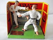 BRITAINS DEETAIL KARATE SET ON DISPLAY CARD....Cat no-8000