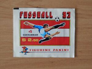 Panini Fußball 83    Tüte  OVP    Österreich