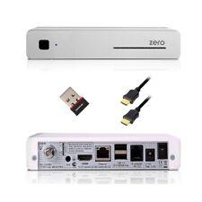 VU+ Plus Zero 1x DVB-S2 Tuner Linux Full HD Sat Receiver Weiß IPTV VU PLUS