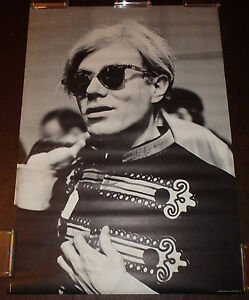 Andy Warhol -Rare Original 1967 Commercial Release 29x42 Poster Never Displayed