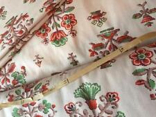 Unbranded Floral Antique/Vintage Craft Fabrics
