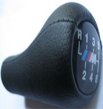 Schaltknauf BMW LEDER M 6 Gang E36 E39 E46 E30 E34  NEU Schalthebel Power