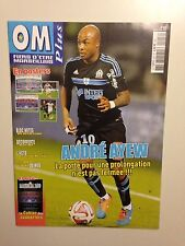 OM PLUS N°427 2015 MARSEILLE // COUV ANDRE AYEW