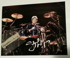 Stewart Copeland Signed The Police Autograph COA 8 x 10 a