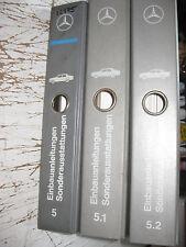 Manuel d'atelier Mercedes R170 W 202- 215 -220 - 208-210 - SA Ausst - 3 Volumes
