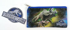 "Jurassic World Back To School 7.5"" Pencil Case Bag Pouch Triceratops with Baby"