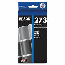 Genuine Epson 273 photo black ink fo T273 T273120 XP 520 600 610 620 800 810 820