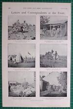 1900 BOER WAR WAR CORRESPONDENT LIONEL MACDONELL VELDT QUEENSLANDER ORDERLIES