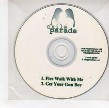 (GG788) Exile Parade, Fire Walk With Me - DJ CD