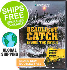 Deadliest Catch  Inside the Catch (DVD, 2012) NEW, Sealed, Discovery Channel