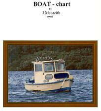 TIMBER FISHING BOAT - STITCH CHART
