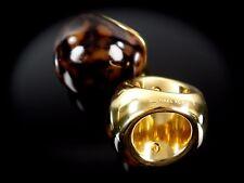 Michael Kors Modeschmuck bombastische Ring Edelstahl Hornoptik Gr.7