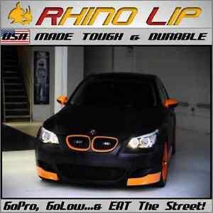 BMW 3-Series E46 Compact Coupe Cabrio Sedan Touring Spoiler Rubber Chin Lip Trim