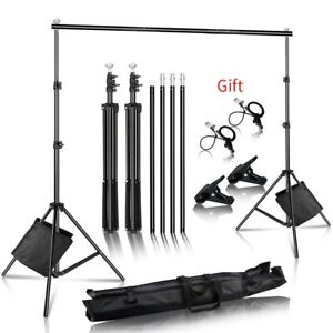 Photo Background Backdrop Support System Kit for Photo Studio Background Stand