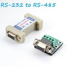New 9 PIN DB9 RS-232 to RS-485 Adapter Interface Convert R8W6