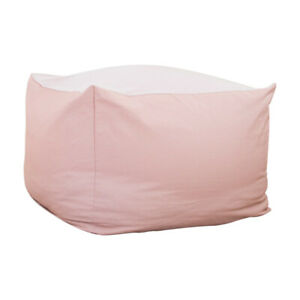 Sofa Cover Bean Bag Cotton Blend Tatami Pouffe Seat Without Filler Chair Storage