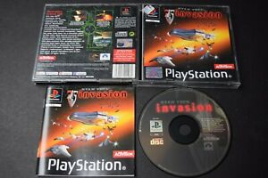 Star Trek Invasion Game PlayStation One PS1 Good Condition Manual Incl PAL