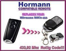 Hormann RSC2-433 compatibile telecomando / telecomando di ricambio 433,92Mhz