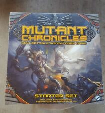 Mutant Chronicles - Starter Game Set With Collectible Miniatures - New in shrink
