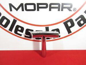 DODGE CHALLENGER Chrome Mopar Gear T-Handle Shift Knob NEW OEM MOPAR