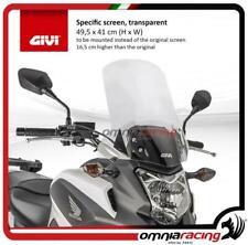 Givi Windschild transparente 495x41cm Honda NC700X 12>13/NC750X DCT 14>15
