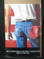 BRUCE SPRINGSTEEN BORN IN THE U.S.A. 1985 ROCK VINTAGE POSTER GARAGE CNG1727