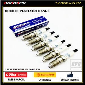 Spark Plug 6 Pack for Audi A6 3.0L 6 CYL BBJ 2/02-5/05 41800