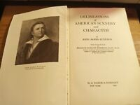 DELINEATIONS OF AMERICAN SCENERY AND CHARACTER by John James Audubon 1926 1st