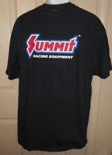XL Summit Racing T-Shirt Cotton Summit Racing Equipment Logo Black Men's Ex-L