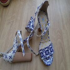 BODEN HEELED ROMA HEELS  SIZE 39==6 BNWOB