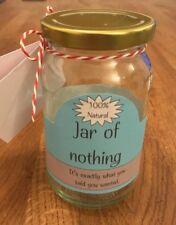 Best Gag Gift - A Jar Of Nothing Funny For Boyfriend Friends Christmas Birthday.