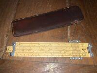 Vintage Pickett Synchro Scale Model N600 Log Log Speed Rule w/ Case