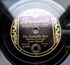 1410/ CONNIE BOSWELL-The umbrella man-Thanks for ev´rything-Slowfox-Schellack