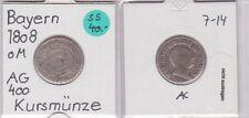 6 Kreuzer Silber Münze Bayern 1808 (121697)