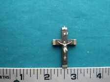 Vintage Cross Pendant Charm  #1398